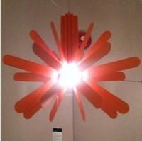 Petal pendant light modern brief fashion child bedroom lamps
