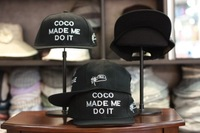 Coco made medoit male women's hiphop cap hip-hop baseball cap sunbonnet