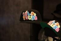 Gd flat-brimmed hat wild young letter hiphop hat baseball cap
