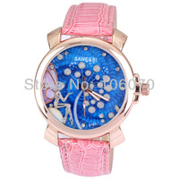 relojes Free shipping New 2013 Brand Watches Women Fashion Rhinestone watches Ladies Dress watches Casual Leather Quartz Watches
