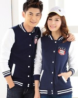 Times p . women's lovers autumn fleece sweatshirt baseball uniform class service