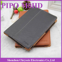 "1pcs Free ship! Newest Original PU leather Case  For PiPO M8HD 10.1"" Tablet PC 2 Colors  Dropshipping"