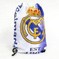 Free shipping Supplies souvenir real madrid backpack pumping shoes bag