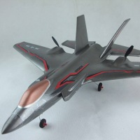 F35 fighter oversized remote control glider large fitted wing hm model