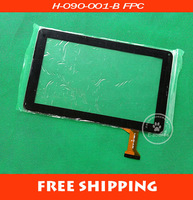 Free shipping 9 inches iobey N92 outside of elite screen touch screen number:  H-090-001-B FPC