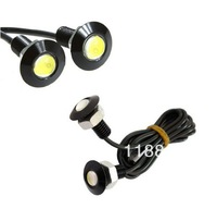 2PCS 9W LED DRL Daytime Eagle Eye Car Fog Reverse Backup Parking Signal Lamp Light For VW Ford Toyota Free Shipping