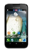 Original Lenovo A66 3.5 Inch MTK6575 Single Core Mobile Phone Russian Android 2.3 256 512MB Multi Language Freeshipping