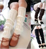 Winter Leg Warmers for Women Fashion Gaiters Boot Cuffs Socks Women Warm Black White