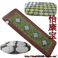 Free shipping for natural Jade  heated   tourmaline pads  physical therapy mat heat 70 Celsius size 150x50cm