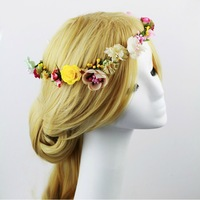 Free Shipping! NEW Romantic Boho Daisy Flower Head piece Garland Headband