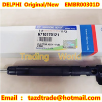 DELPHI Original New CR Injector  EMBR00301D / A6710170121 for SSANGYONG D20DTF / KORANDO C 2.0 E5 / NEW ACTYON