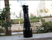 Free shipping NEW ARRIVAL YEZL-BY6 LED high flashlight AMERICAN CREE LED T6, 860 lumens ,led torch