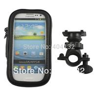 200PCS Phone Holder Bike Waterproof Case For Samsung Galaxy S4 i9500/ S3 I9300 Bicycle Bag