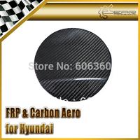 FOR Hyundai Veloster Carbon Fiber Fuel Cap Cover Gamma Fit Turbo TCi GDi MPi