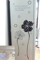 Wall stickers exquisite flower refrigerator stickers cabinet wall stickers xm456