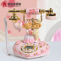 Cartoon telephone fashion romantic lovers phone souvenir
