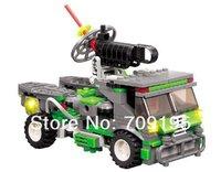 holiday sale Enlighten Child DIY 8022 Educational Deformation Robot car KAZI building block sets,toys for children free Shipping