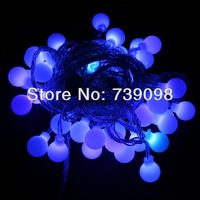 LED String Lighting for christmas party wedding 10M 72LEDs warm white LED Ball string lights indoor decoration 220v
