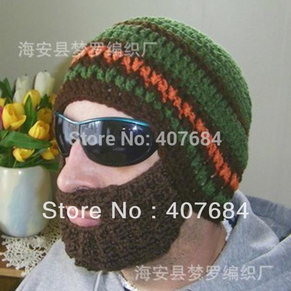 Crochet Patterns For Hats For Men Mens Crochet Beard Hat Free