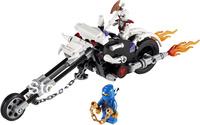 holiday sale Enlighten children toys 9728 DIY educational blocks Ghost Rider BELA building block sets ninjago toy free Shipping