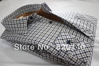 Shirts For Men 2013 The Autumn And Winter Velvet Casual Shirts Thick Warm Men 's Long-Sleeved Plaid Shirt