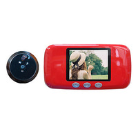 3 Inch LCD Door Viewer Peephole(Visual , Doorbell , TF card slot , Photo shooting)