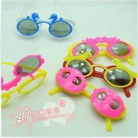 Gift child glasses eyeglasses frame glasses toy 2 glasses