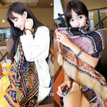 Ling winter new winter Musi quality twill silk scarf scarves shawls 210 Mian Mian