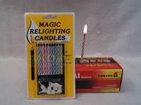Novelty shock toys candle birthday
