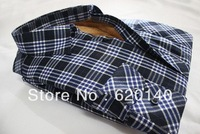2013 New Hot Men's Casual Warm Thickening Dress Long Sleeve Shirts,Men's Super Warm Plaid Shirt 15 Colors