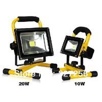 10w&20w Portable Hi Power White LED Work Light Rechargeable Flood Light IP65