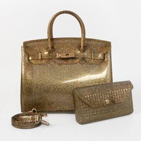 designer handbags 2014 H multiglitter candy jelly bags women shoulder bags