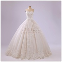 Aesthetic princess wedding dress 203 quality lace puff skirt tube top fashion
