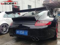 Portion Carbon fiber trunk spoiler rear spoiler For 2005-2011 Porsche Carrera 911 / 977 GT4 style  trunk spoiler
