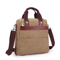 2014 New Arrival Casual Vintage Style Canvas Bag For Men Sling Messenger Bags Ipad Shoulder Bag Briefcase Business Handbag