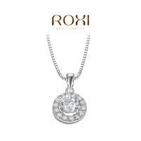 ROXI delicate round necklaces,fashion jewelrys,nice platnium plated necklaces,fashion jewelrys for women,Christmas gifts