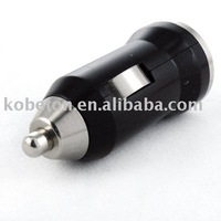 Free Shipping Discount Black Car Charger USB Adapter for Mp3 Mp4