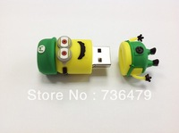 Free shipping Despicable Me Minions pen drive 32GB 16GB 8GB 4GB 2GB cute usb flash drive pendrive Cartoon