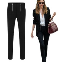 2014 New women pants  plus size capris high waist trousers skinny casual pencil pants free shipping