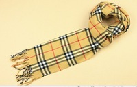 2013 male scarf adult thermal muffler scarfs winter fashion tassel plaid faux thickening scarves