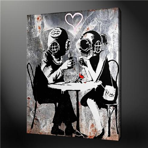 Painted Street Walls Wall Art Painting Pictures