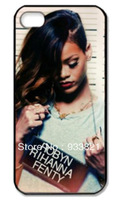 Hot selling wholesale robyn rihanna fenty a sexy girl hands a sign case for iphone 5 case 5 5sfree shipping