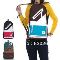 HOT 2013 Autumn Winter  Canvas bag casual shoulder bag men and women students tidal couple backpack Backpack