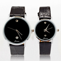 Lovers Watch Leather Simple Popular Fashion Quartz Men Women Girl Unisex Wrist Calendar Clock Watches reloj con fechador