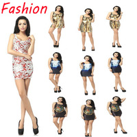 Free shipping! Fashion women Cartoon/animal/blood 3d printed sleeveless support bra  T Shirts Golden pharaoh 3D vest  tank tops