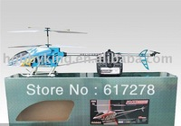 "2PCS FXD A68690 3.5ch Gyro System 125CM 42"" Metal Frame RC Helicopter with LED lights"