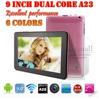 9 inch Allwinner A13 Tablet 9 Cortex A8 External 3G WIFI External 3G Capacitive 512MB 8GB Screen Cheap Android 4.0 Tablet PC