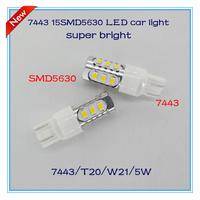 Mazda 3/5/6 free shipping 2pcs/lot led brake tail light 7443 T20 W21W 15SMD5630 7.5W super bright auto lamp accessories headlamp