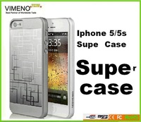free shipping hot sale high quaity super case for iphone 5/5s factory direct wholesale price