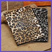 Leopard Leather Case For iPad Air / iPad 5 Stand Smart Cover Free Shipping